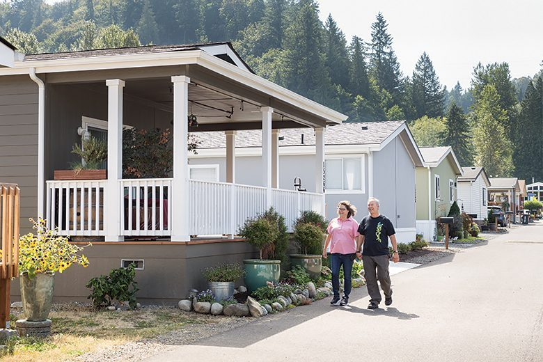 As Developers Buy Up Land Local Mobile Home Owners Find Solutions