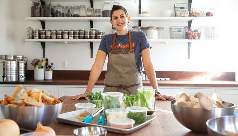 Local Seattle chef Becky Selengut