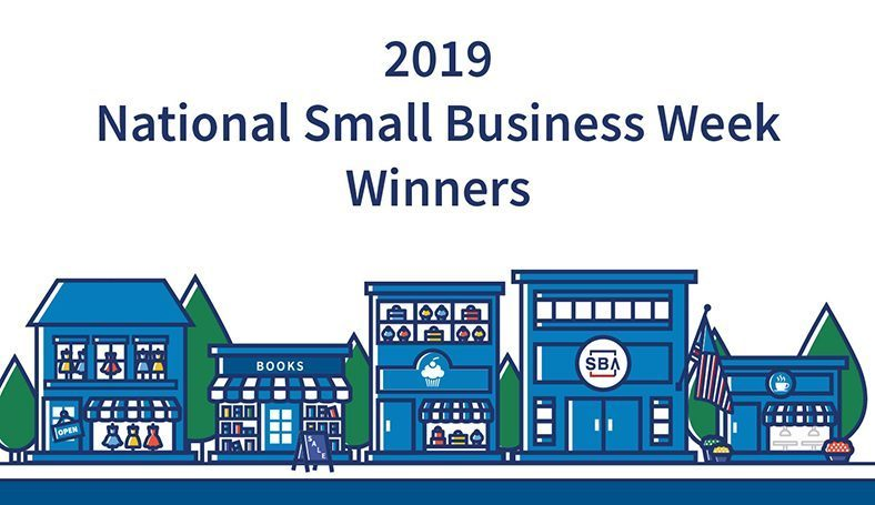The awards coincide with National Small Business Week