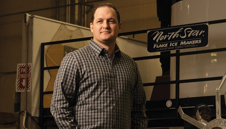 Logan Shepardson, president of North Star Ice Equipment, oversees a management team that has turned the challenges posed by transition into opportunity.