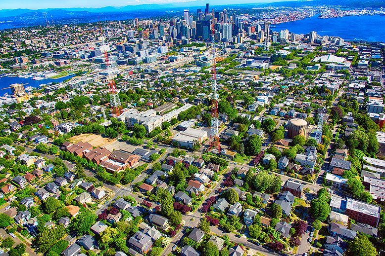 Seattle's Suburban Office-Leasing Market Contracts Slightly in Q2