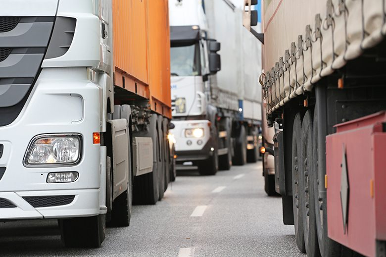The choke points represent a threat to future economic growth, the trucking trade group that conducted the study says