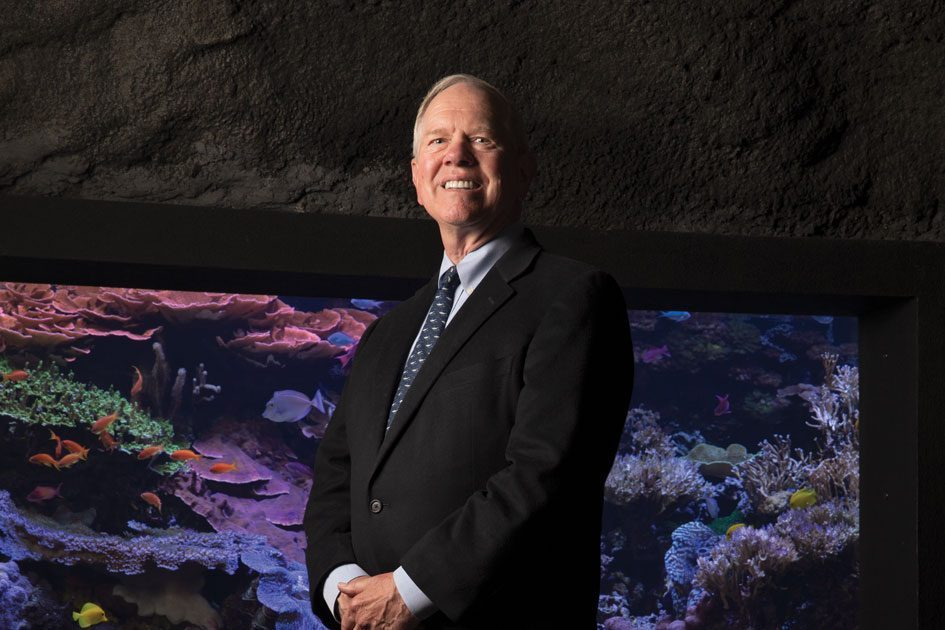 CEO Bob Davidson Is Preparing for a Sea Change at the Seattle Aquarium