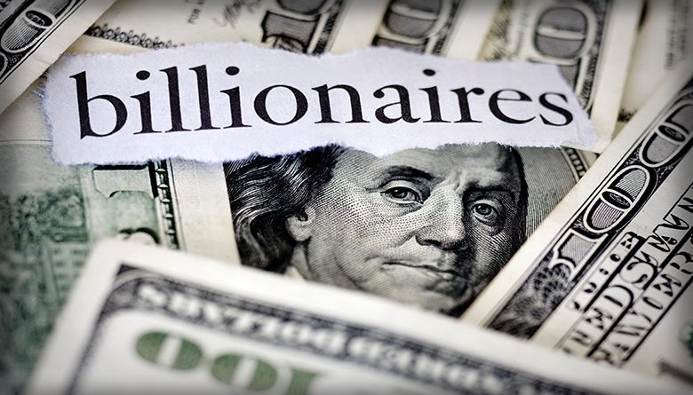 A total of three billionaires with Puget Sound roots rank among the 20 richest people on the planet