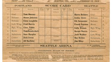 During the era of the Spanish flu, Seattle's Metropolitans became the first U.S. team to win the Stanley Cup