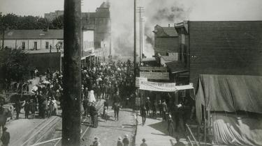 The Great Seattle Fire in 1889