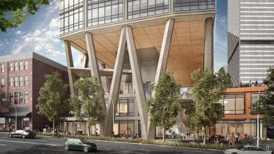 The data company has signed on as the anchor tenant