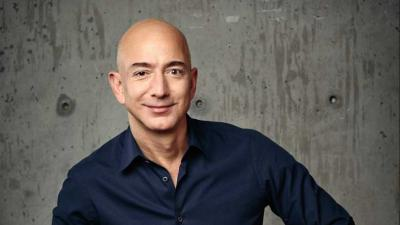 Amazon founder and CEO Jeff Bezos