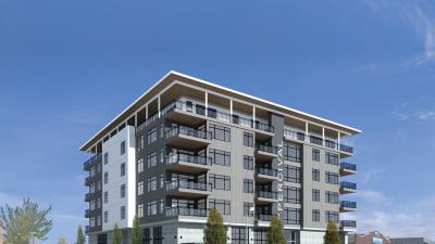 Renderings of condo plan in Olympia, WA by The Rants Group