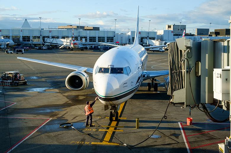 The two airlines account for nearly two-thirds of all passenger traffic at the airport